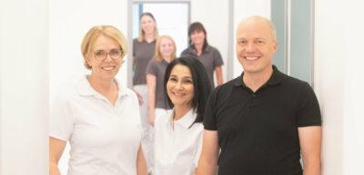 Kieferorthopäden-Team der Praxis Dr. Andreas van Meegen