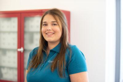 Unsere Mitarbeiterin Celina