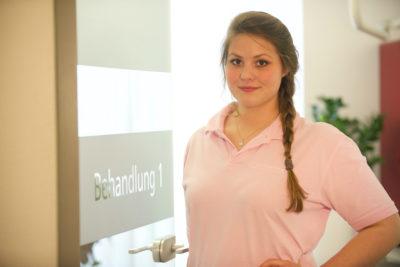 Unsere Mitarbeiterin Kristina