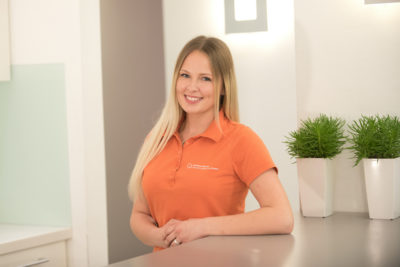 Unsere Mitarbeiterin Melissa